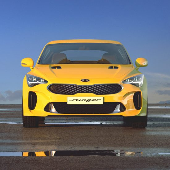 Cgi automotive Kia Stinger