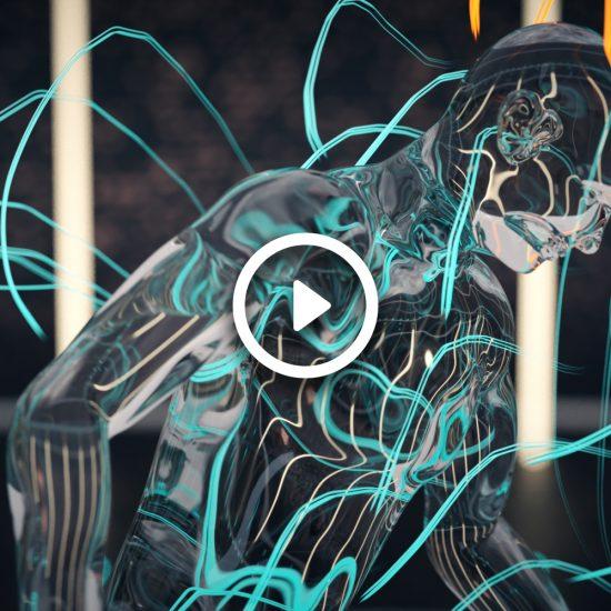 Animación CGI luces