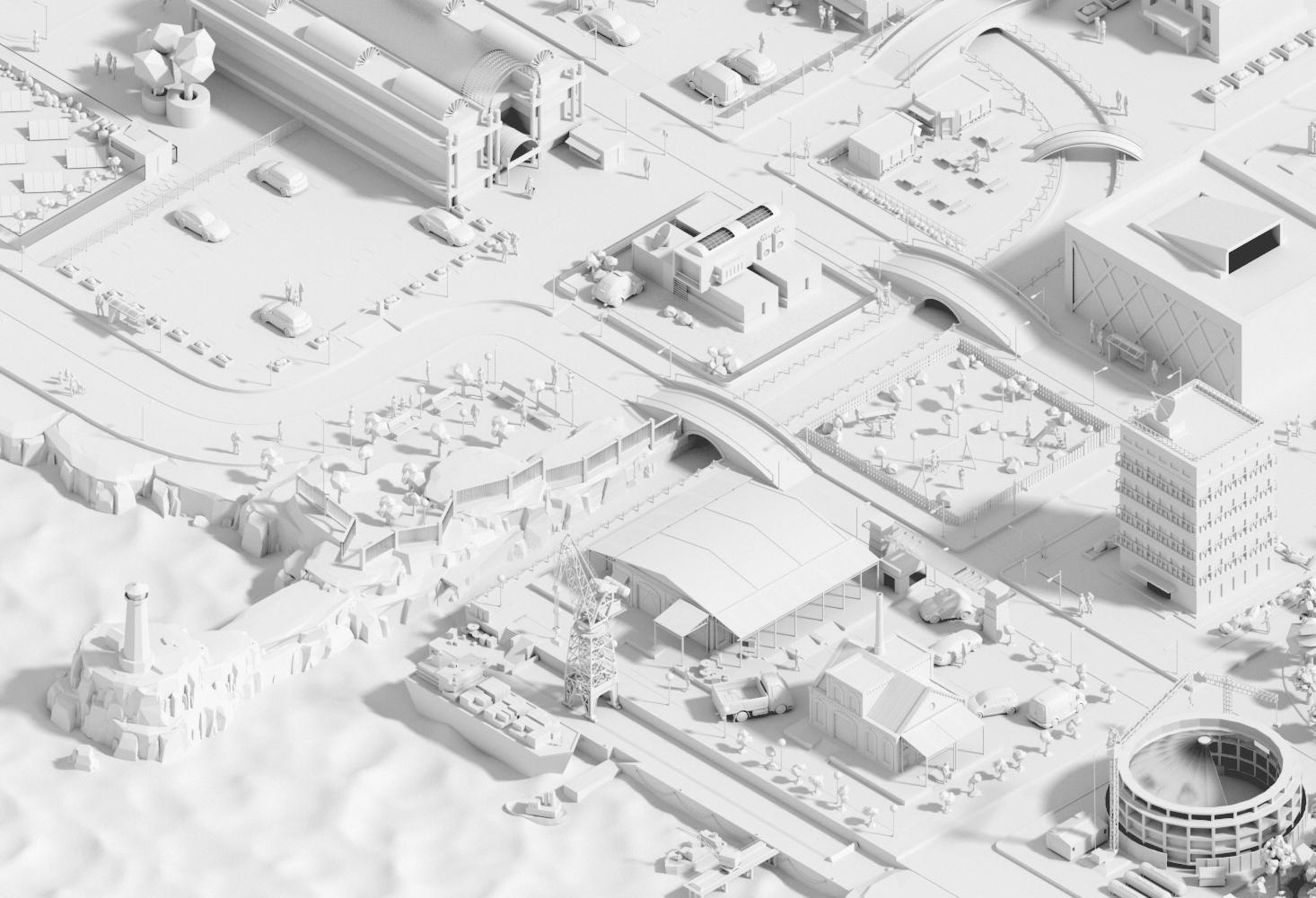 CGI City, 3D/CGI