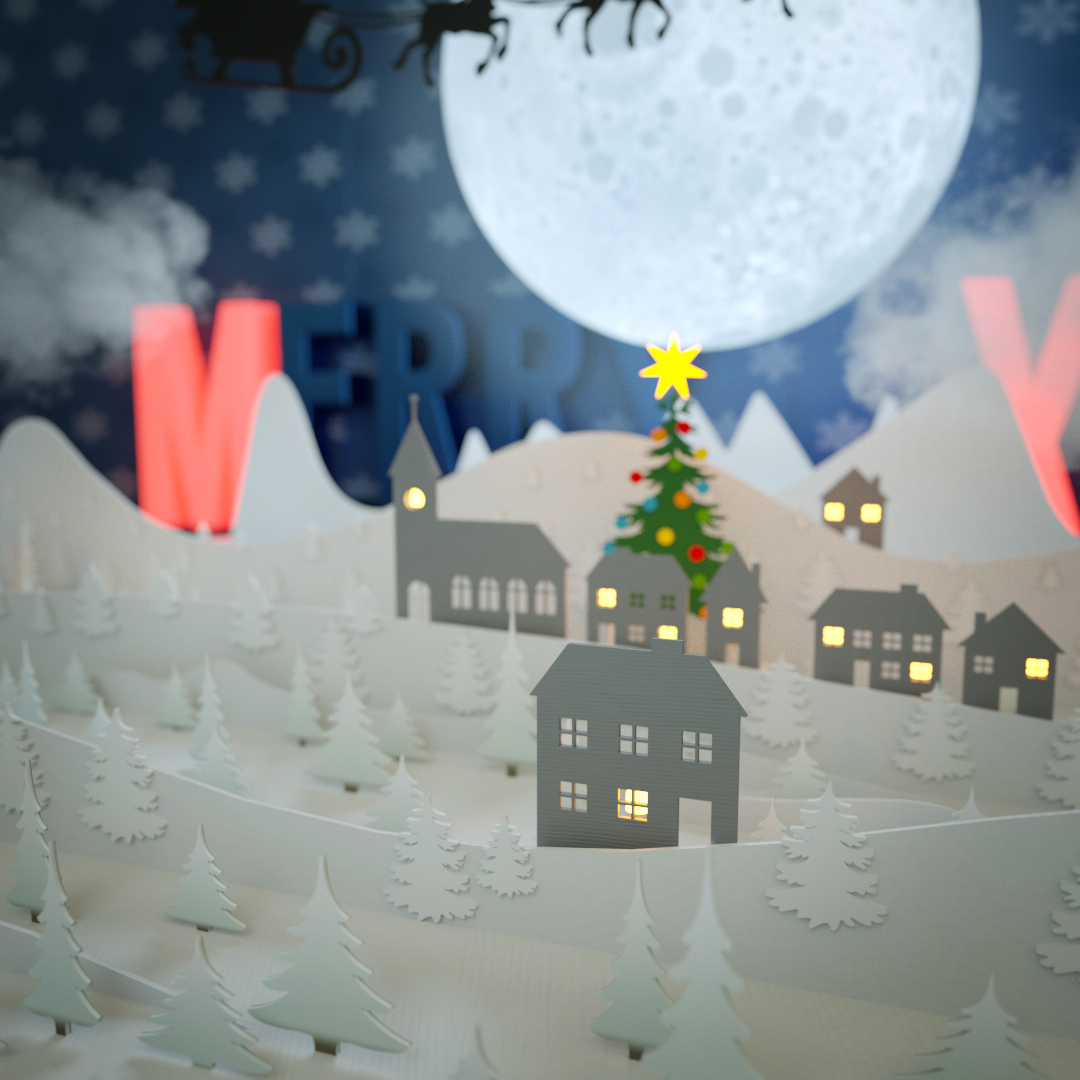 Studio Capicua | CGI Christmas Illustration