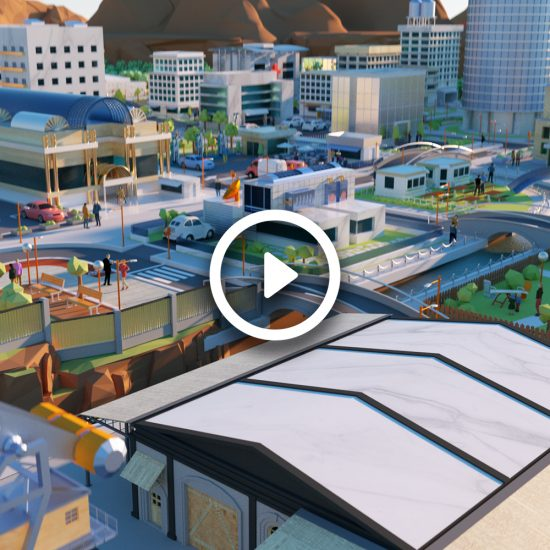 3D Animation Repsol City